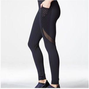 Michi Black Storm Pocket leggings Full Length XS